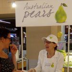 In-store pear tasting boosts sales by 24 per cent