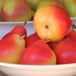 Planting systems for blush pears