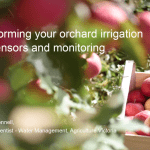 Transforming your orchard irrigation with sensors and monitoring