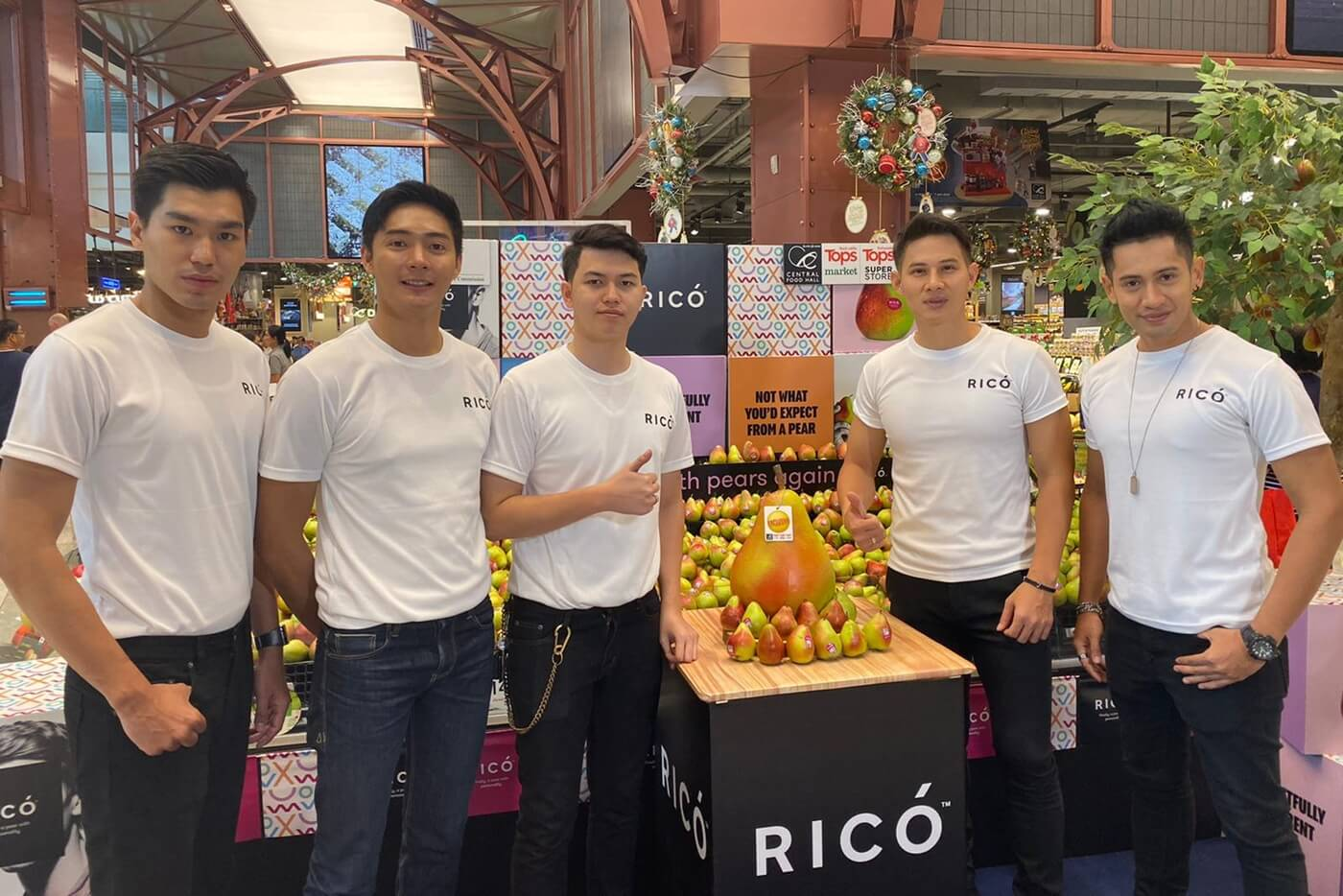 rico tops launch