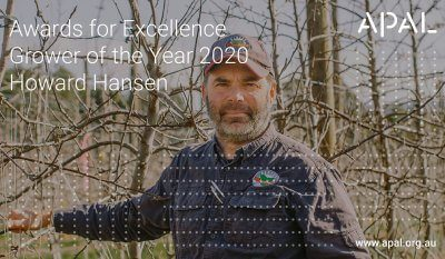 Awards for Excellence – Howard Hansen, Grower of the Year